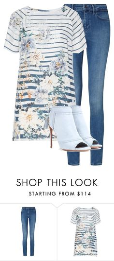 """""""Untitled #564"""" by kigsmile22 ❤ liked on Polyvore featuring Calvin Klein, Open End and Aquazzura"""