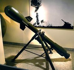 07 Davey Crocket M388 Nuclear Weapon Recoilless Launcher