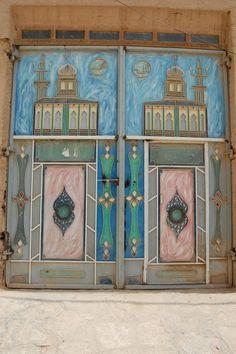 Beautiful Doors in Hadhramout, Yemen.