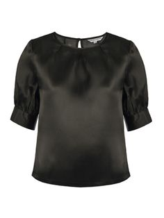 Organza top What Women Want, Malene Birger, Silk Organza, Wardrobe Staples, Just In Case, Black Tops, Glamour, Blouse, Stuff To Buy