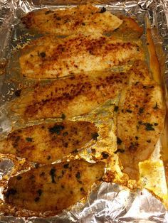 Tender pieces of sole encrusted with this simple coating is an easy weeknight meal! Ingredients: 6 slices of dover sole 1 cup shredded parmesan cheese 2 T. Paprika 2 T. Chopped parsley or cilantro …