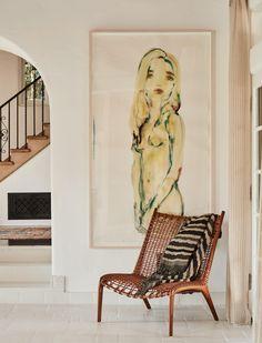 Kim Kardashian's Stylist Simone Harouche Is Now An Interior Designer, Too - ELLEDecor.com