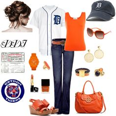 Game Day, created by dawndayiannelli on Polyvore    Nikki, this is just perfect for you!!! lol.