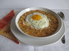 Kedd: Tökfőzelék tükörtojással Eggs, Breakfast, Morning Coffee, Egg, Egg As Food