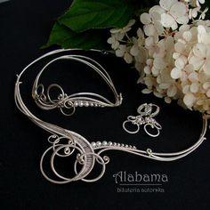 ALABAMA - In white - komplet ślubny