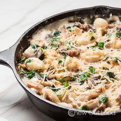 One Pot Gnocchi with Spinach and Chicken 4
