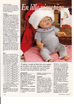 Album Archive - Dukketøj til Baby Born 2 - Ingelise Knitting Dolls Clothes, Knitted Dolls, Doll Clothes Patterns, Crochet Dolls, Doll Patterns, Barbie Clothes, Barbie Dolls, Baby Born Clothes, Baby Booties Free Pattern