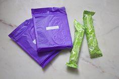 Veeda 100% cotton tampons