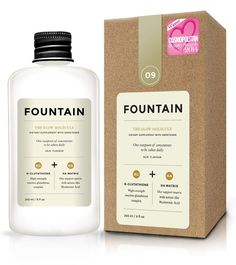 Fountain The Glow Molecule Dietary Supplement With Sweetener Fat Burning Supplements, Weight Loss Supplements, Packaging Inspiration, Medicine Packaging, Supplements For Women, Bottle Packaging, Coffee Packaging, Nutritional Supplements, Packaging