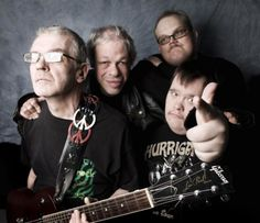 A Finnish band is getting ready to take the Eurovision Song Contest by storm. Pertti Kurikan Nimipaivat (PKN), are a punk outfit and, as well as their love of music, they're also united by their daily struggles with Down's syndrome and a. Punk Outfits, Down Syndrome, Pop Music, Disability, Punk Rock, Soundtrack, Finland, The Selection, The Unit