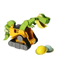 Look what I found on #zulily! Dino Construction T-Rex by Dino Construction Company #zulilyfinds