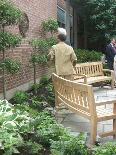 Endurance Garden Benches at Dartmouth College in Hanover, NH