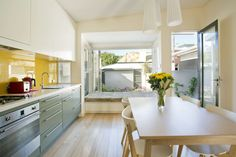 Victorian Workers Cottage Addition by Danny Broe Architect (via Lunchbox Architect)