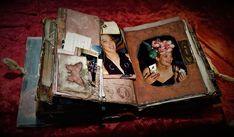 σελίδα για πειραγμένο βιβλίο, μίξη και αντιστοίχιση σε προσωπικό άλμπουμ Altered Books, Journal, Artwork, Work Of Art, Auguste Rodin Artwork, Book Art, Artworks, Illustrators