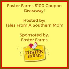 Ogitchida Kwe's Book Blog : Foster Farms $100 Coupon giveaway