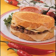 Hot Italian Patties Recipe ~ use turkey sausage for improved healthiness of the recipe