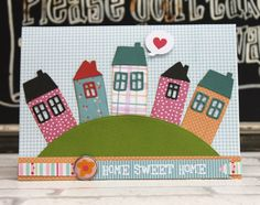 Trendy home sweet hom card friends Ideas New Home Cards, House Of Cards, Home Gym Decor, At Home Gym, Home Movie Quotes, Cute Diy Projects, 3d Projects, Black Interior Design, At Home Workout Plan