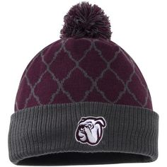 Mississippi State Bulldogs Top of the World Women's Diamond Dust Knit Hat - Maroon - $22.99