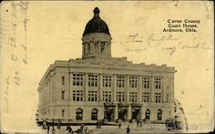 Carter County Court House. Ardmore OK.