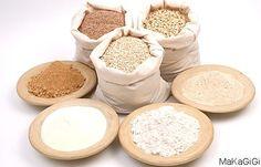 The Skinny on Flour: 10 Best Healthy Flour Alternatives Thm Recipes, Flour Recipes, Gluten Free Recipes, Real Food Recipes, Cooking Recipes, Sans Gluten Vegan, Trim Healthy Momma, Gluten Free Flour, Food Hacks