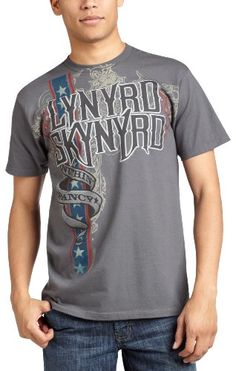 Liquid Blue Men`s Lynyrd Skynyrd Nuthin Fancy Short Sleeve Tee - Listing price: $21.00 Now: $15.71 + Free Shipping