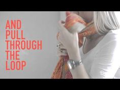 More Ways to Tie a Scarf | Fashion | PureWow National