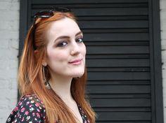 natural make up - red hair - basic lips - sombra marrom - maquiagem marrom olhos