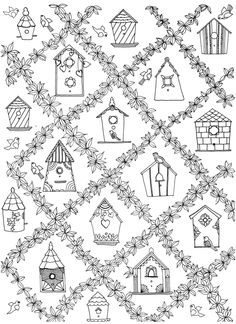 Color And Explore With Secret Garden An Inky Treasure Hunt Coloring Book