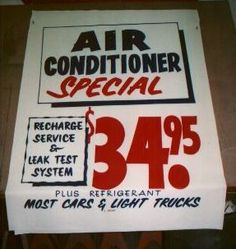 Auto Repair Signs Before you call a AC repair man visit my blog for some tips on how to save thousands in ac repairs. Go here: www.acrepaircarrollton.net/