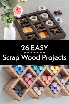 Great collection of easy DIY scrap wood projects and ideas! Small projects that are fun to make. Make organization, home decor, storage. These simple projects are perfect for beginner woodworking! #anikasdiylife #woodworking Scrap Wood Projects, Easy Projects, Beginner Woodworking Projects, Diy Woodworking, Wood Working For Beginners, Easy Diy, Hair Raising, Easy Home Decor, Make It Simple