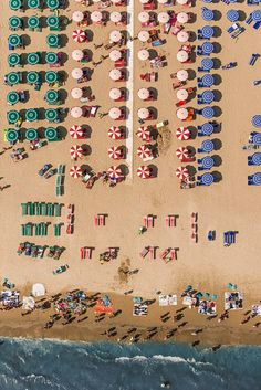 Amazing Beach Abstractions by Bernhard Lang