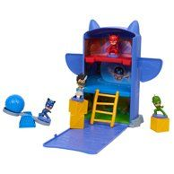 PJ Masks Headquarters Fold And Go Playset Catboy Owlette Gekko Romeo Catapult Pj Masks Headquarters, Top Christmas Toys, Christmas 2019, Pikachu, Brand Character, Top Toys, Buzz Lightyear, Disney Junior, Power Rangers