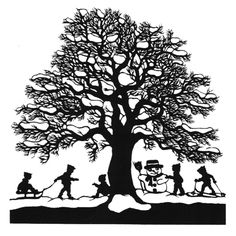 @Esther Aduriz Gerber Silhouette Pictures, Silhouette Art, Silhouette Projects, Wood Carving For Beginners, Glass Block Crafts, Christmas Stencils, Shadow Puppets, Mandala Drawing, Winter Pictures