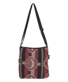 Another great find on #zulily! Catori Rust & Navy Chloe Crossbody Bag by Catori #zulilyfinds