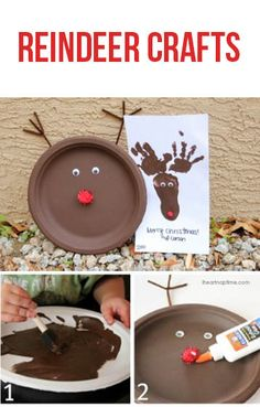 Super cute and easy reindeer crafts for kids on iheartnaptime.net