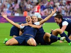 Gold for USA women's soccer!