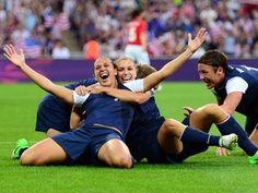 Gold for USA women's soccer!