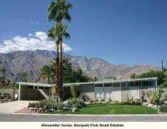 Alexander home with amazing mountain view in Palm Springs.