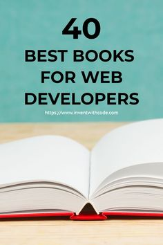 I've put together a comprehensive guide that captures the best books available to learn web development that are bestsellers, top rated, and highly regarded by other experts. #webdevelopment #webdesign #programming