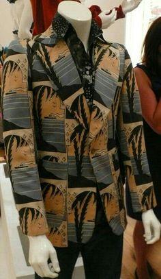 Johnson & Johnson  Art Deco/Glam Rock Jacket 1973