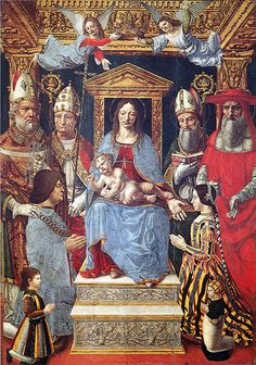 Pala Sforzesca, 1496 – Pinacothèque de la Brera, Milan Beatrice D'este, 27 De Mayo, Renacimiento Italiano, Pintores Italianos, Pinturas Clasicas, Imágenes Religiosas, Museos, Fotos, Lituania