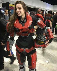 Noble Six from Halo cosplay by whereisdanielle Halo Cosplay, Cosplay Armor, Amazing Cosplay, Best Cosplay, Cosplay Outfits, Cosplay Girls, Armadura Cosplay, Halo Armor, Halo Spartan