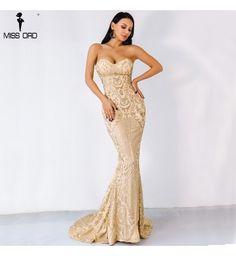 6ac6c516c Vestido Longo Miss Ord Dourado Glitter - Compre Agora | Shopping City - Seu  estilo o que Importa !