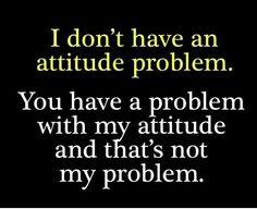 Not my problem!