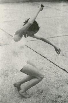 jean renaud dancing on a paris rooftop 1950