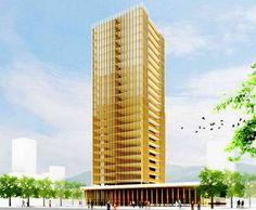 Wizualizacja drewnianego wieżowca (Fot. Dvice.com)