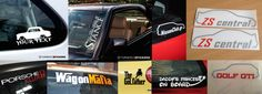 We are suppliers of high quality & unique automotive stickers / decals for all car enthusiasts.