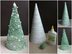 DIY Christmas decorations #Christmas #ChristmasDecorations #DIY I'm so doing this this year.