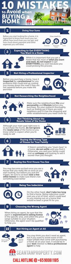 10 mistakes buying a home - SeantanpropertySeantanproperty