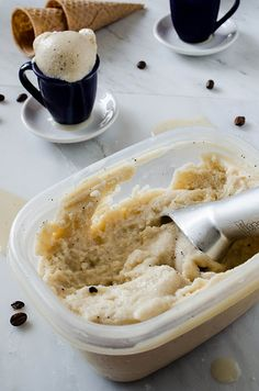 Coffee Frozen Kefir (or Frozen Yogurt) | cooking ala mel by cookingalamel, via Flickr
